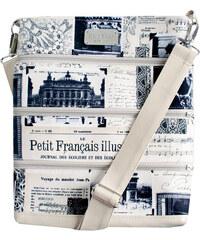 Dara bags Crossbody kabelka Dariana Big No. 1162 I love Paris