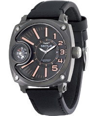 SECTOR WATCHES Hodinky SECTOR NO LIMITS Mountain Compass, Black PVD R3251207004