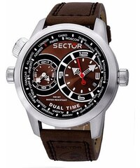 SECTOR WATCHES Hodinky SECTOR NO LIMITS Action Oversize, Dual Time R3251102055