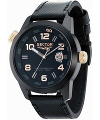 SECTOR WATCHES Hodinky SECTOR NO LIMITS Action Oversize, Black PVD R3251202025