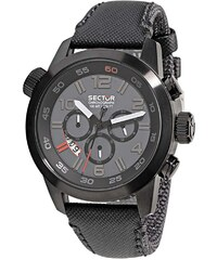 SECTOR WATCHES Hodinky SECTOR NO LIMITS Action Oversize, Black PVD R3271702025