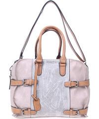 Rieker kabelka H1026-40 béžová-šedá
