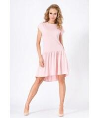 Dámské šaty Makadamia M180 růžové