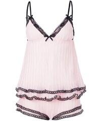 BlueBella ANAIS Pyjama pink/black