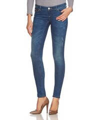 ONLY Damen Skinny Jeanshose Superlow Coral Ali6060 Dark Noos