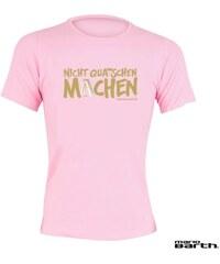 Mario Barth Damen T-Shirt Nicht quatschen machen