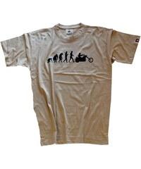 Shirtzshop Erwachsene T-Shirt Original Chopper Motorrad Evolution