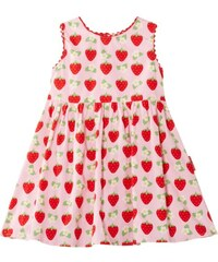 Toby Tiger Mädchen Kleid Pink Strawberry Party Dress
