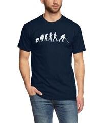 Shirtzshop T-shirt Standard Edition Eishockey I Ice Hockey Evolution