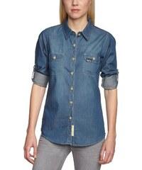 Surplus Damen Regular Fit Hemd Raw Vintage Jeans Shirt Wn