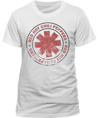 Live Nation Herren T-Shirt Red Hot Chili Peppers - Vintage