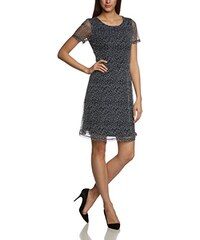 More & More Damen A-Linie Kleid 1 - tlg. Kurz 88993510, Knielang, Gepunktet