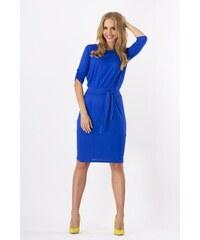 Dámské šaty Makadamia 8986 tmavě modré