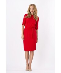 Dámské šaty Makadamia 8986 červené