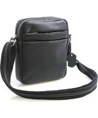 Enrico Benetti Černá luxusní kožená taška IG710 černá