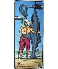 Plážová podložka Zip-Large Pisces