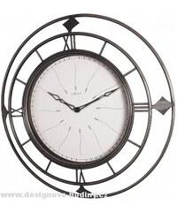 Designové nástěnné hodiny 2878 Nextime Fence 40cm