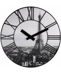Designové nástěnné 3D hodiny 3004 Nextime La Ville 39cm