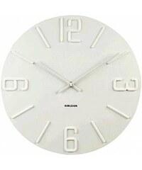 Designové nástěnné hodiny 5438WH Karlsson 60cm