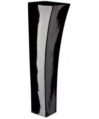 Váza Quadro V černá 12x40
