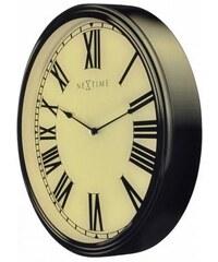 Designové nástěnné hodiny 3076 Nextime Houdini 25x35cm