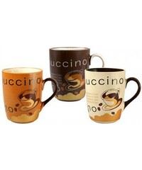 BANQUET Hrnek Cappuccino 3 assorted