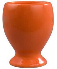 Kalíšek na vajíčka oranžový