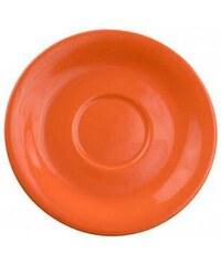Čajový podšálek oranžový 15,5cm