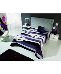 Deka Pruhy fialové 5310