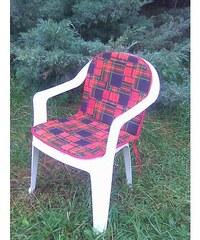 Polstr na nízkou židli