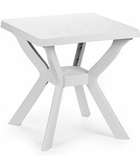Plastový zahradní stůl Reno bílý