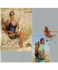 Skládací křeslo Backpack Event Chair Orange