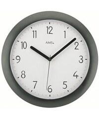 Nástěnné hodiny 5845 AMS řízené rádiovým signálem 28cm