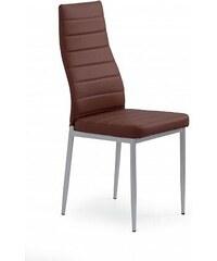 Jídelní židle K70 tmavě hnědá