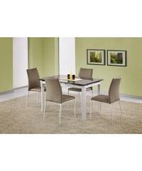 Jídelní stůl Alston bílo-béžový