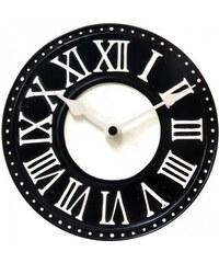 Designové nástěnné hodiny 5187zw Nextime v anglickém retro stylu 17cm