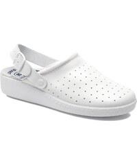 UMO Confort - Cony - Clogs & Pantoletten für Damen / weiß