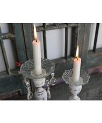 Chic Antique Dekorativní kroužek na svíčky Crystal