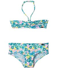 Skiny Mädchen Bikini Tropical Beach Aqua