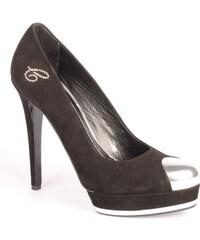Celebrity Dámská černá semišová obuv celebrity ww1902 EUR 35