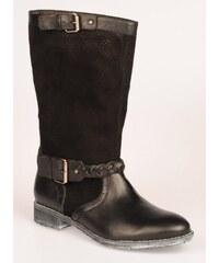 STROLL Dámská černá perforovaná obuv WW1926n EUR 36