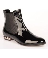STROLL Dámská černá lakovaná obuv WW2184n EUR 35