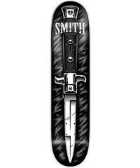 MYSTERY SMITH SK8 DESKA - černá (SMITH) - 8.1/8