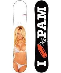 NIDECKER PAM SNOWBOARD - bílá - 162XL