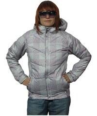 RUSTY ZELDA WMS SNOWBOARD BUNDA - světle šedá (SAF) - M