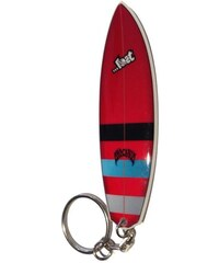 LOST SURFBOARD KLICENKA - červená (MLT) - univerzální