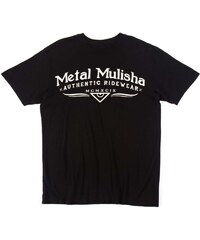 METAL MULISHA CLASSIC TRIKO - černá (BLK) - S