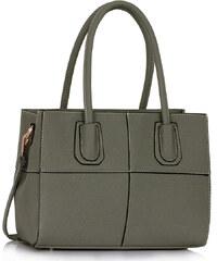 L&S Fashion (Anglie) Kabelka LS00124A šedá