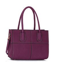 L&S Fashion (Anglie) Kabelka LS00124A fialová