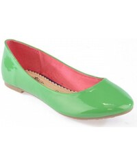 vices Dámské zelené balerínky 38